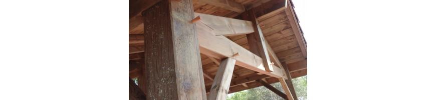 bois de charpente pin des landes
